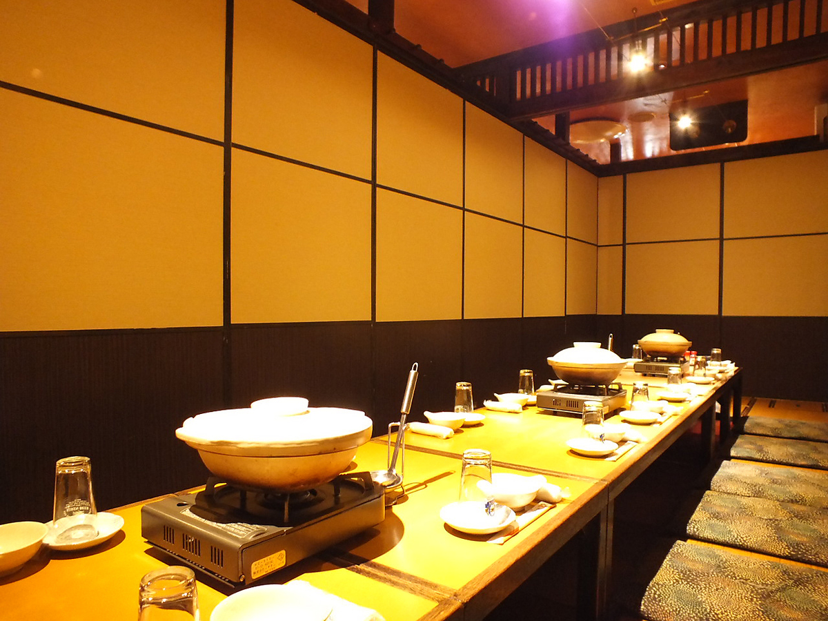 【For 20 people】 4 to 65 people digging OK in private room