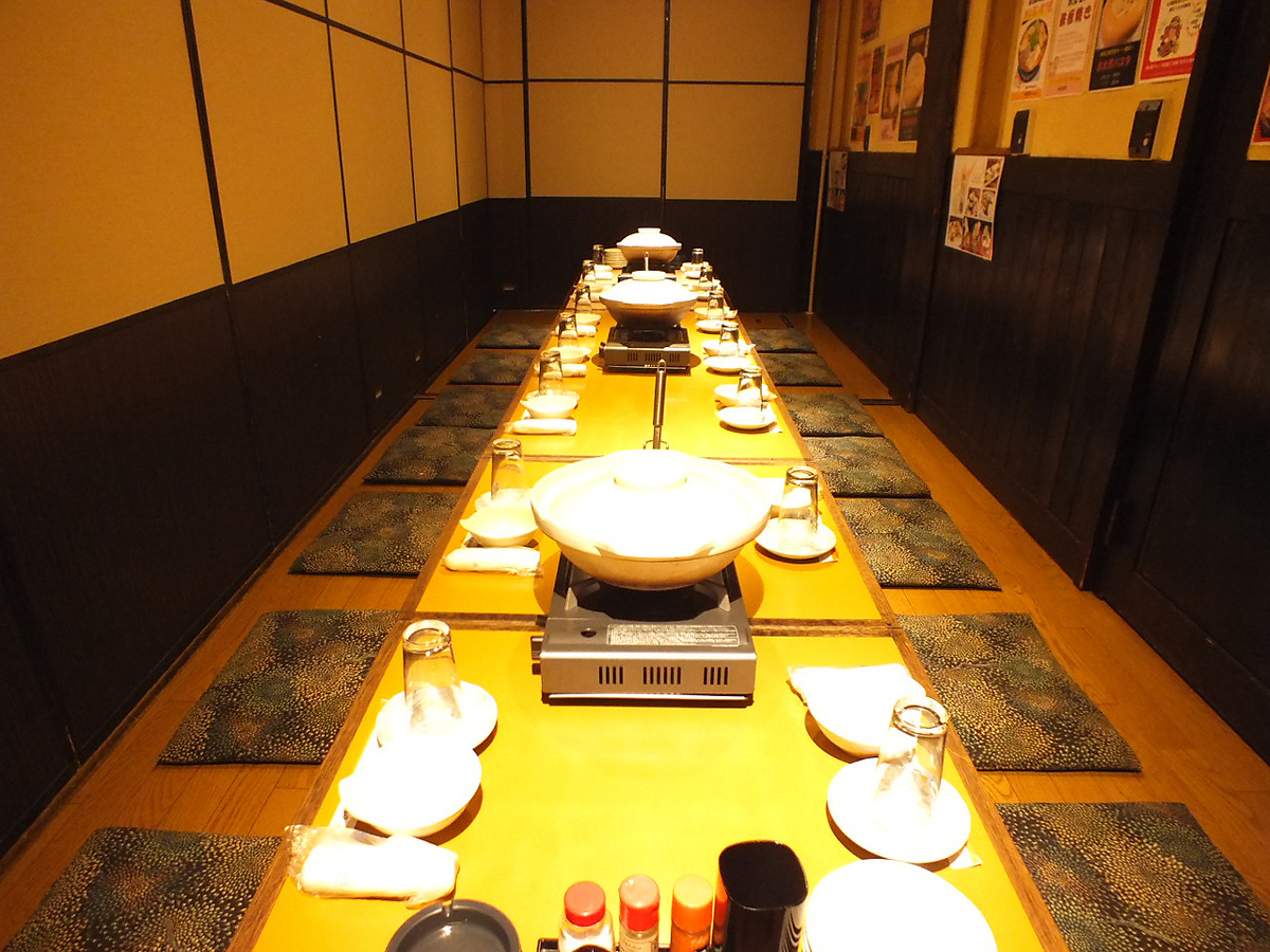 【For 15 people】 4 to 65 people digging OK in private room