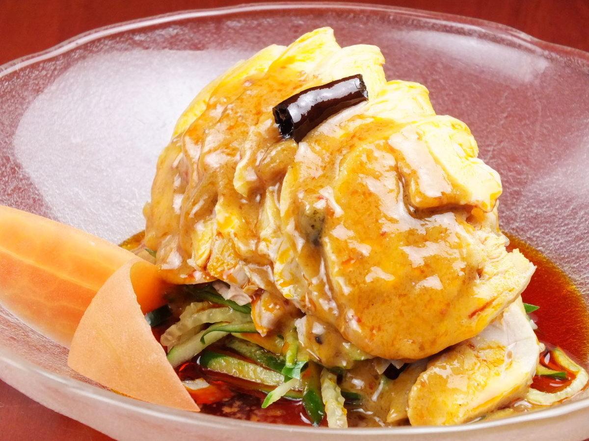 Sichuan style pole chicken