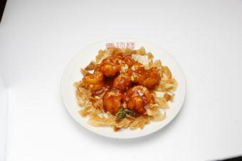 Chilli sauce of car shrimp