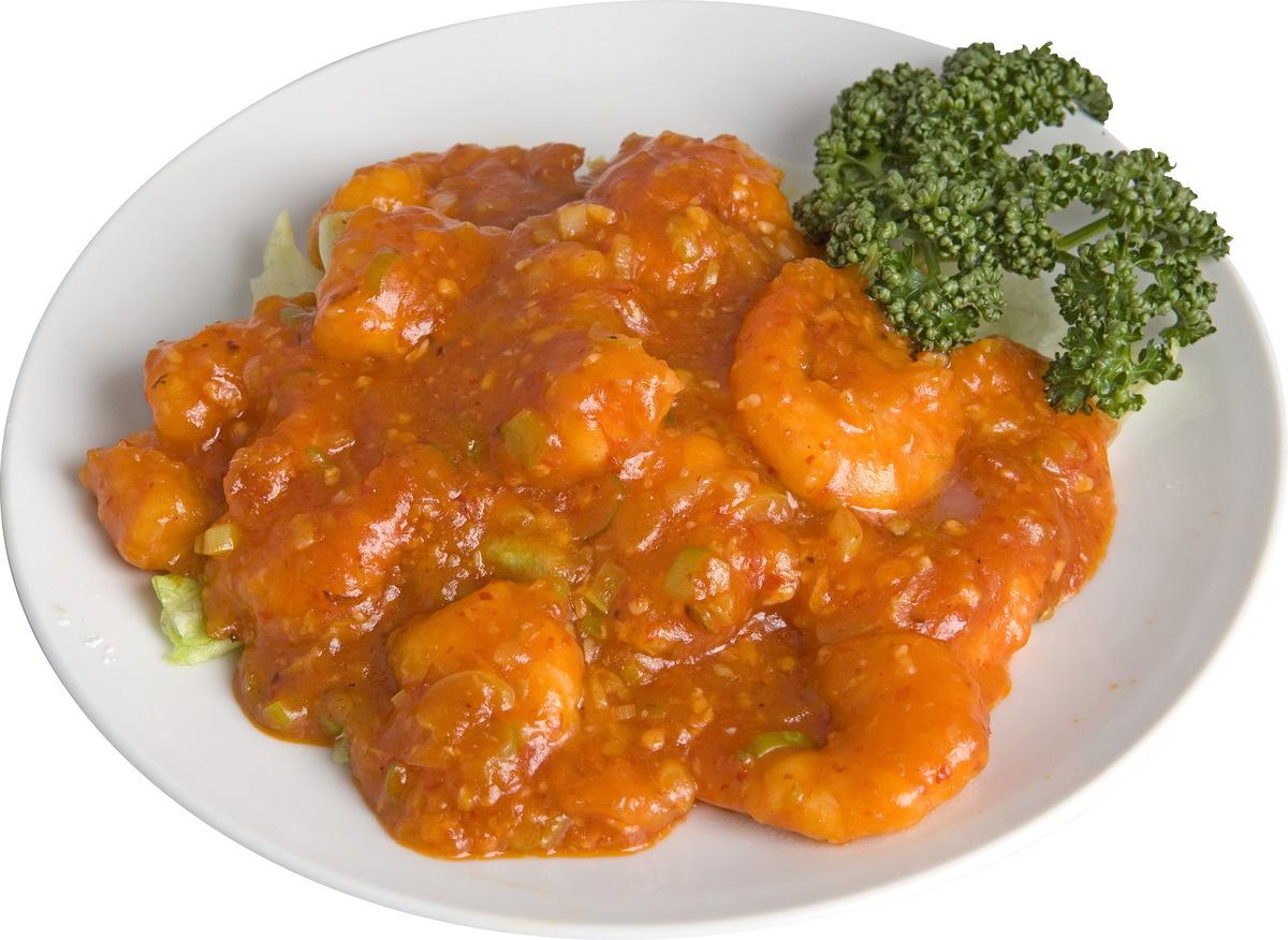Chilli sauce of lawn shrimp