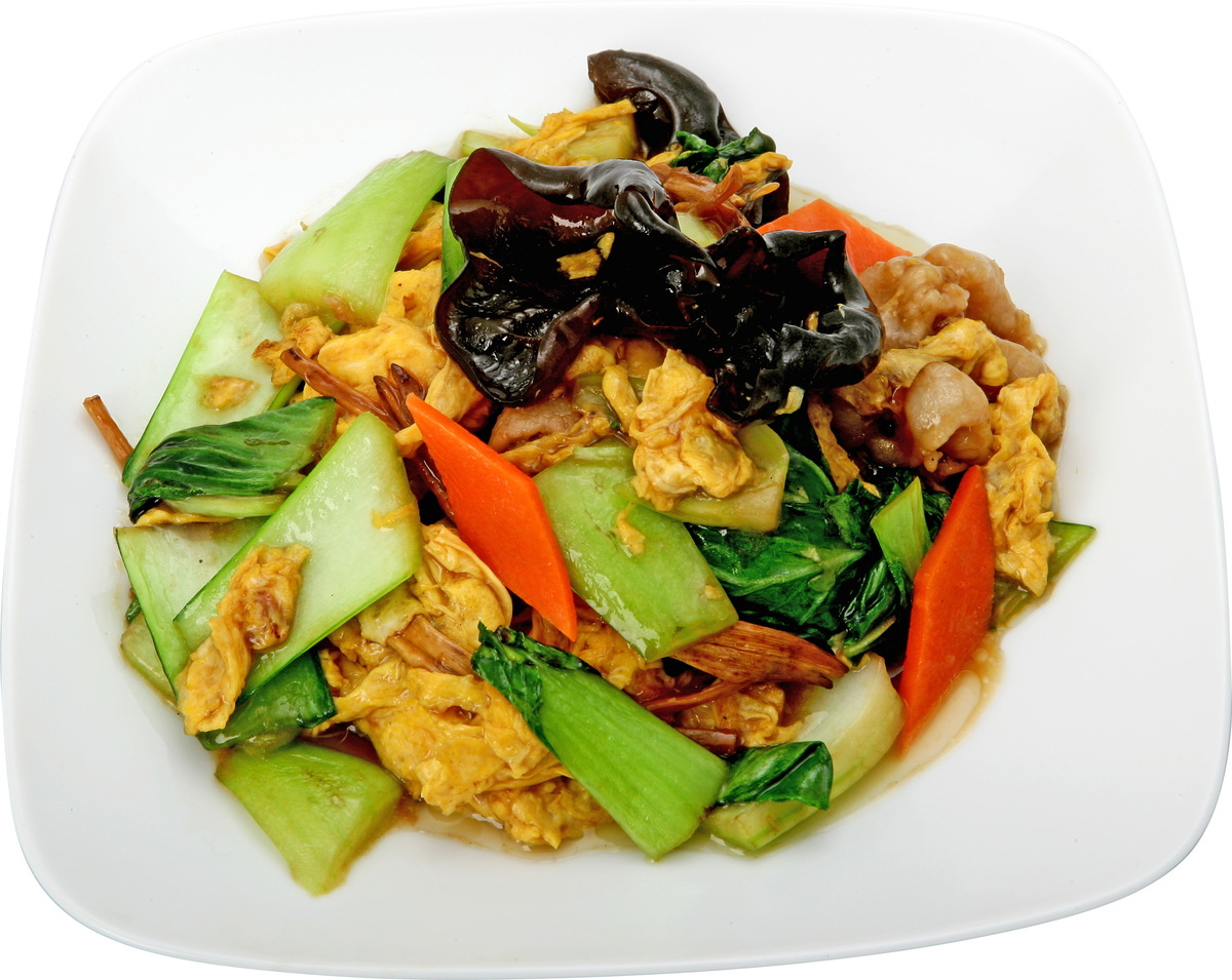 Stag beetle, meat, stir-fried egg
