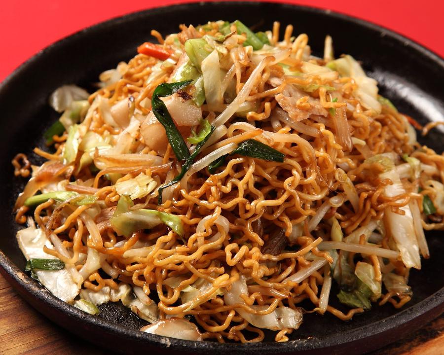 Iron plate sauce yakisoba