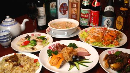 Premium course B ♪ with all you can drink ★ All 11 items that you can enjoy three seafood stir-fry, venison etc!