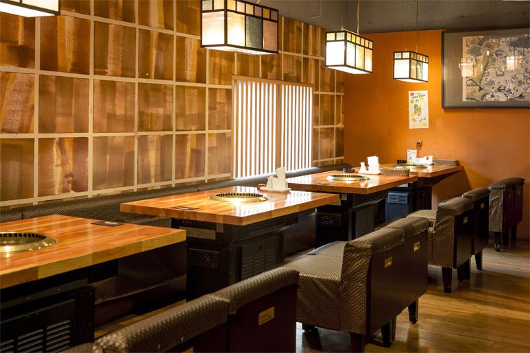【2樓餐桌】4人乘法×4桌,6人×1桌