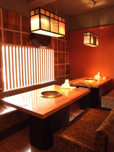Small witty space full of cleanliness.Perfect for ♪ dating where you can enjoy a delicious meat in the calm atmosphere ☆