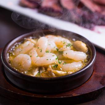香菇和虾Ahijo