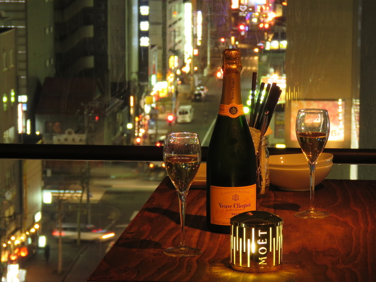 Even on a special day's date ....We also have wine, champagne etc ♪