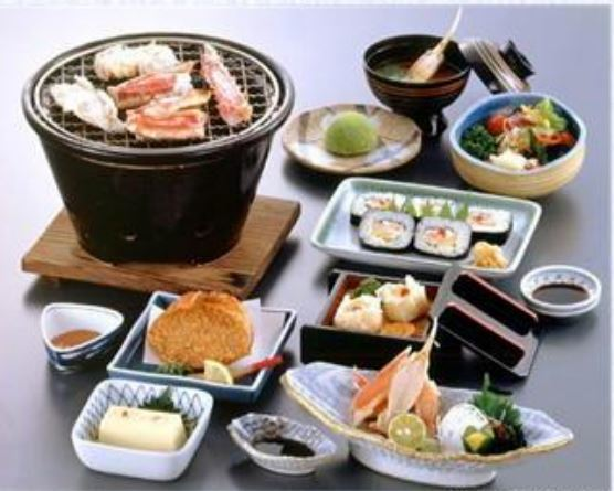 You can change the sway to Taraba with plus 600 yen.* With 350 yen plus you can change the rice to thick three rolls, with plus 550 yen and heavy volume 5 penetration.