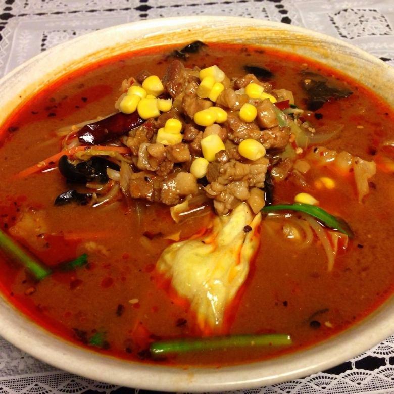 Sichuan miso ramen