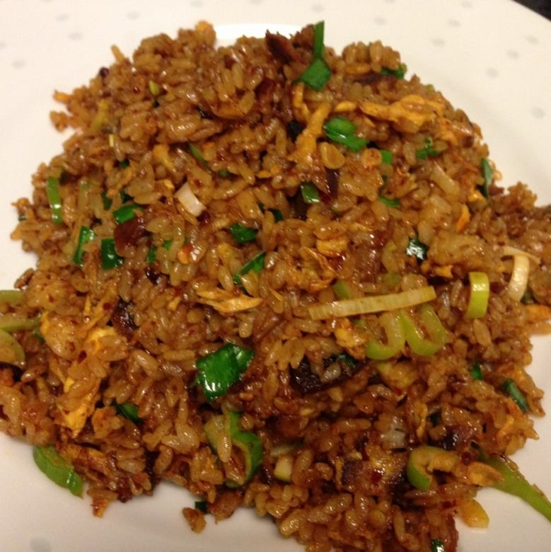 Sichuan miso fried rice
