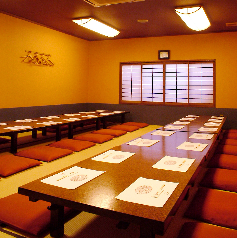 【2nd Floor Oshiziki Banquet Private Room】 15 ~ 35 people OK!