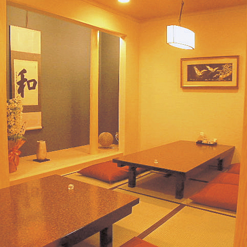 【First floor private room】 4 ~ 8 people OK!