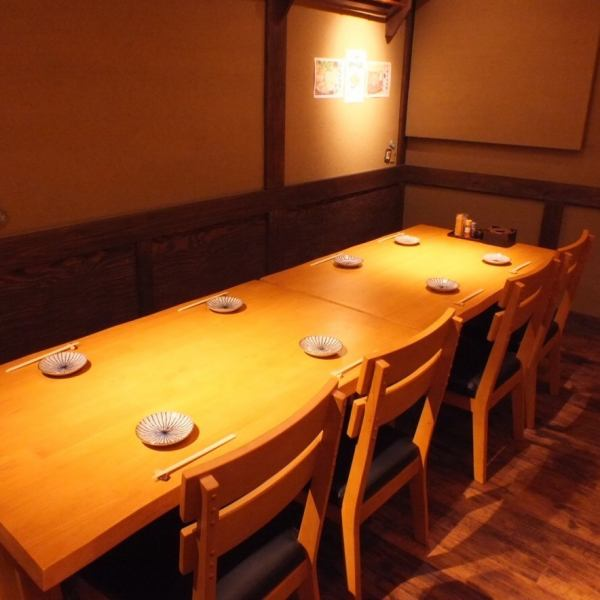 【Available for up to 16 people】 It is perfect for company banquet ◎ Because it is a ticky room in a private room, you can use it without worrying about surroundings.Please do not hesitate to consult us for charter.