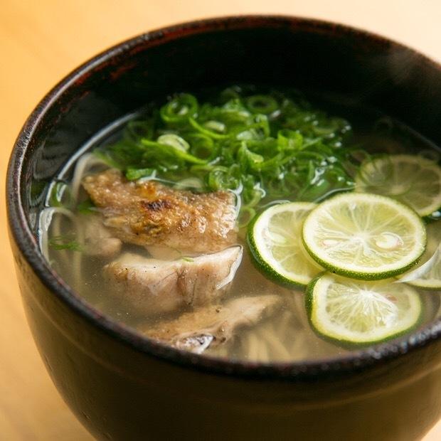 雞鹽Sudachi蕎麥麵