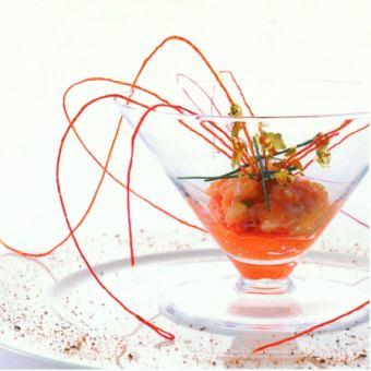【豪華フレンチ】前菜3品、お魚&お肉料理、デザートなど世界の食材を使用したコース!