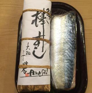 鯖棒 초밥