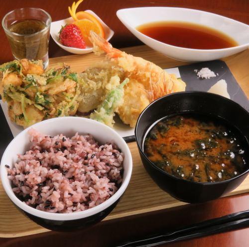 【和】天ぷら御膳 ※和食メニューは不定期で提供しております。