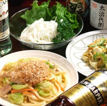 ★ ☆ 요리 6 종 & 2h 음료 뷔페 코스 ♪ 4500 엔 ☆ ★