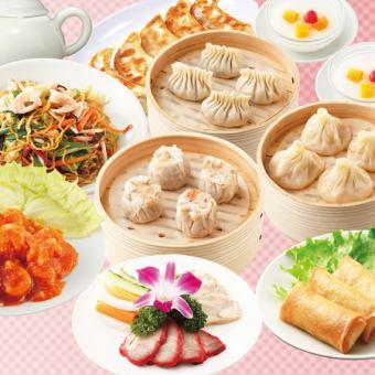 香港飲茶コース全9品♪1,580円(税抜)