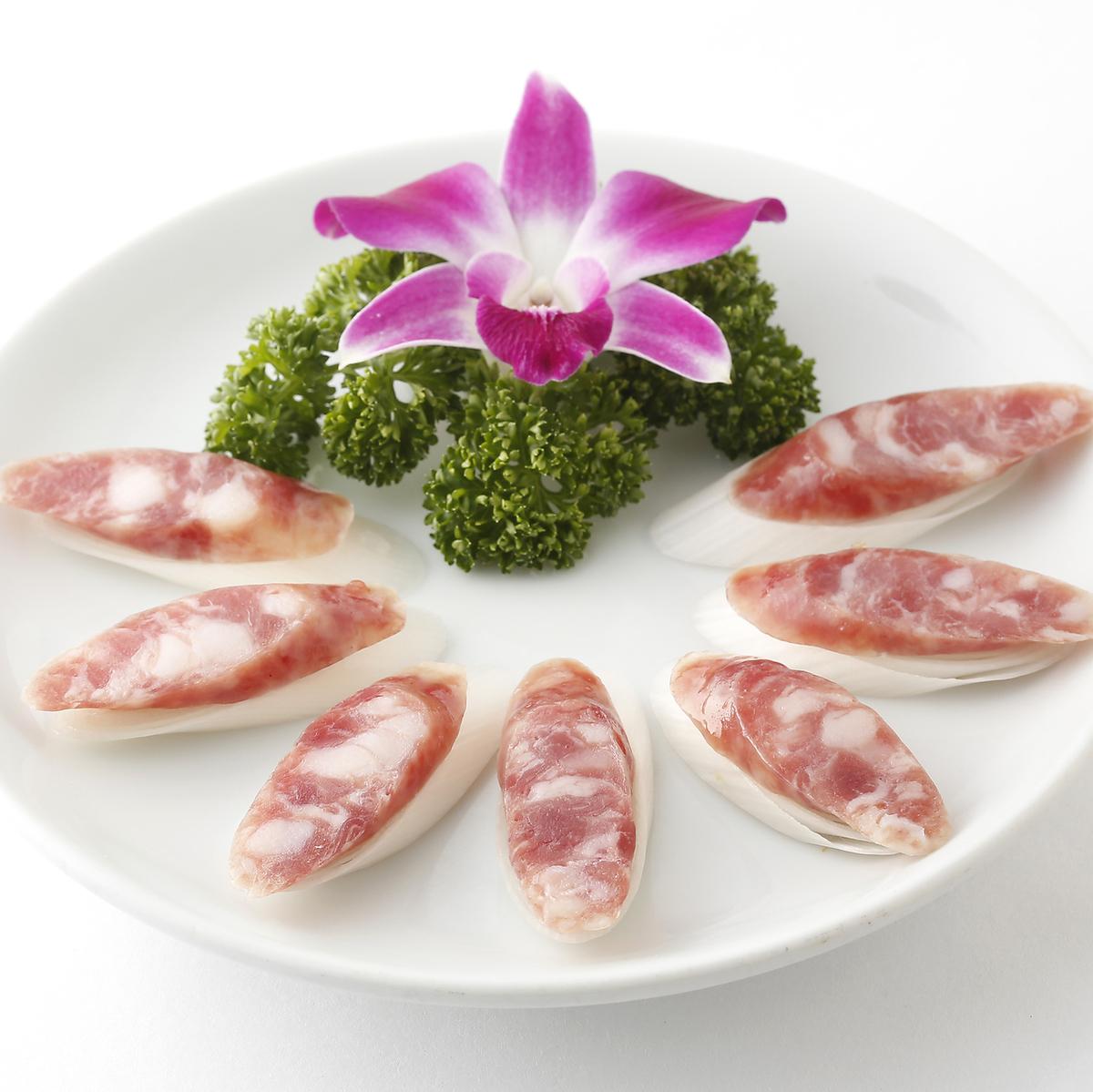 台湾腸詰め/キクラゲの冷製