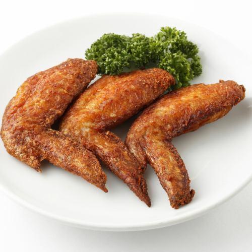 若鶏の唐揚げ/手羽先の唐揚げ
