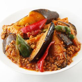 マーボーナス/豚肉とナスの炒め/マーボー豆腐