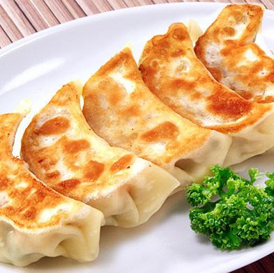 広東風焼き餃子/焼きにらまん