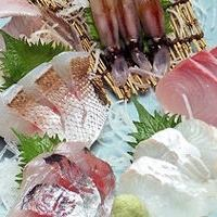 Three sashimon Sashimi / five points Sheng