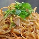 Deep-fried soba sauce