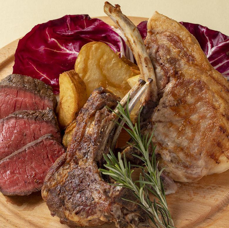 本日のお肉 3種盛り合せ