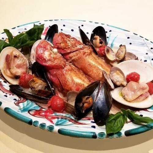 【南イタリアといえば魚介料理!】