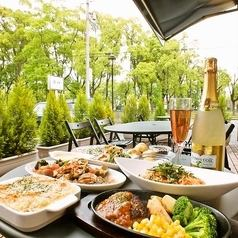 Terrace seats have liberation feeling plenty! Mama association at lunch, dinner can be used for parties and various scenes! Spring - autumn is recommended!