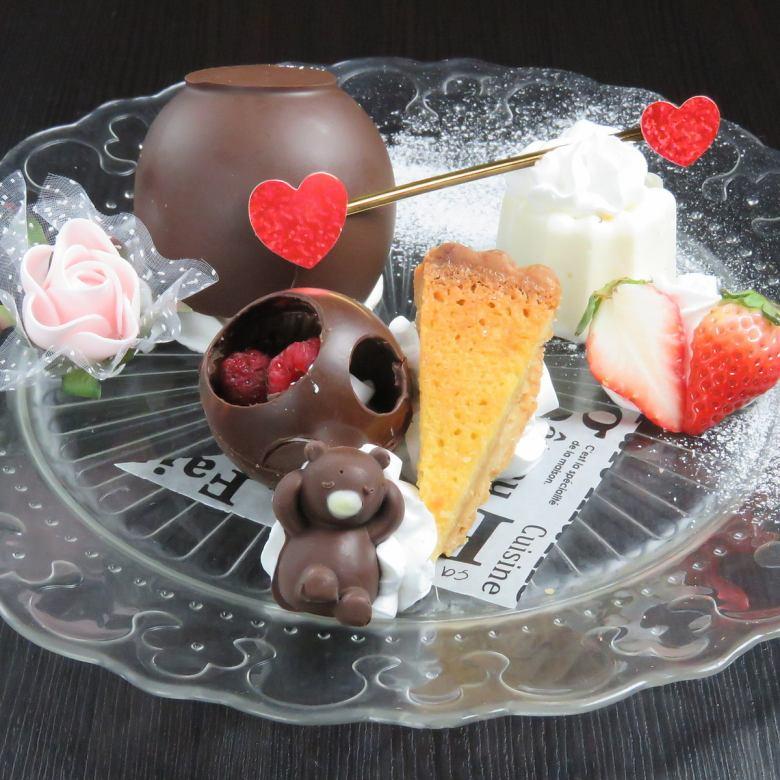 午餐有限【甜品盤和一杯飲料】