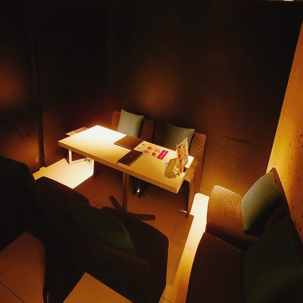 «Private room» Popular private room that you can relax comfortably on sofa.Indirect lighting creates a mood ☆