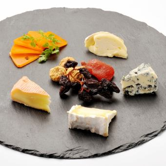 Assorted cheese of the day
