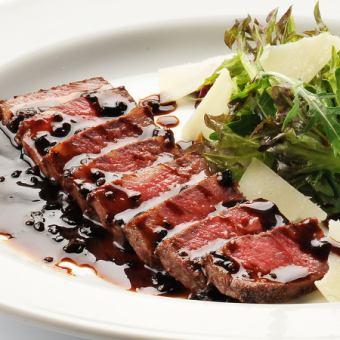 "A5 Madera sauce of Turiata black truffle of Furano cattle ""Sirloin"""