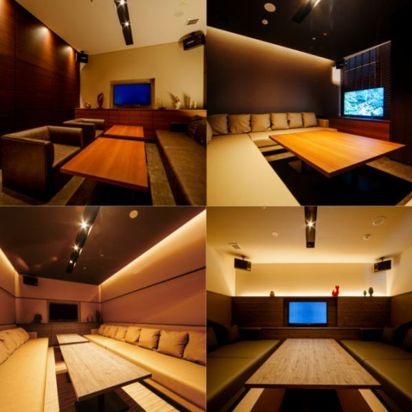"【Elegant private space with elegant and modern blend】 We offer ""Adults only relaxing adults playground"" in Barrele (meaning: value). You can enjoy the latest karaoke and authentic Italian cuisine in a space like elegant and modern, spacious, like a resort hotel. Only 2 rooms limited luxury VIP room with WC"