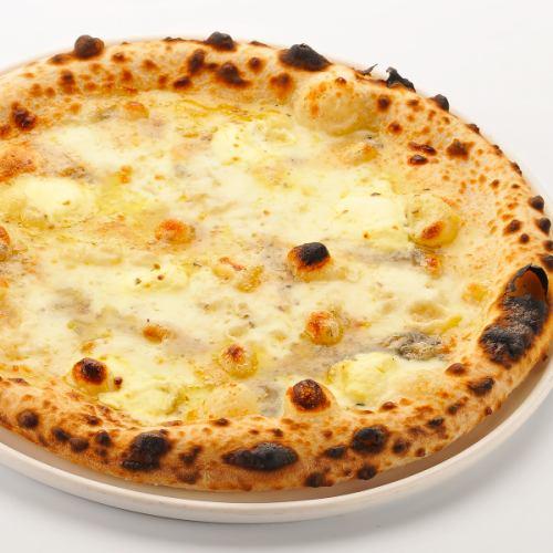 ピッツァ/4種チーズ