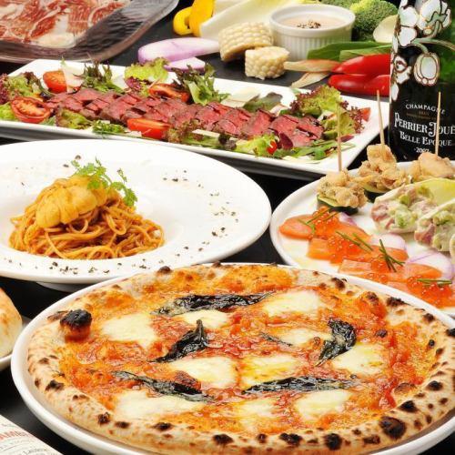 食材にこだわったすすきののシェフが振る舞うイタリアン