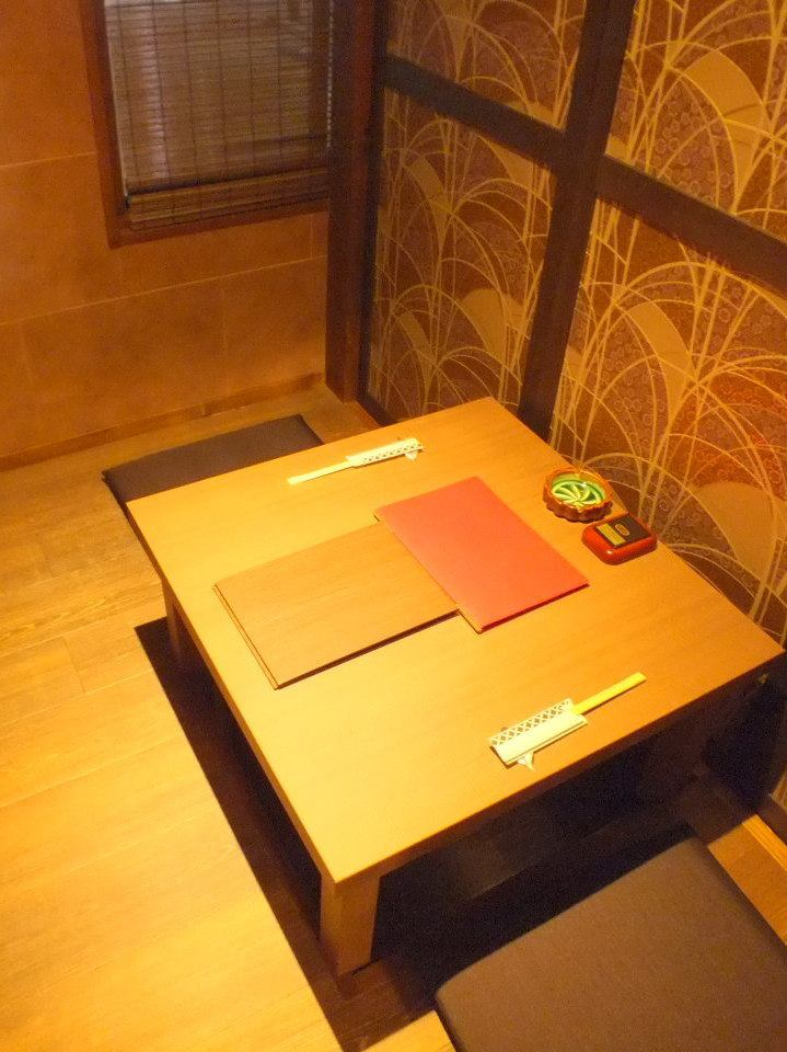 You can enjoy attentive cuisine and alcohol in a calm atmosphere 【Drunki and Yokura Hanazono Shop】