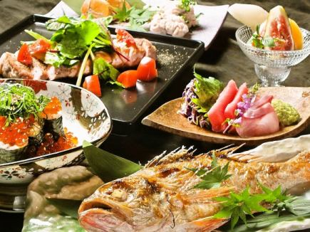 【2 people ~ OK!】 7 kinds of foods that are adhered to quality & all-you-can-drink all-you-can-e-mail 4000 yen ♪