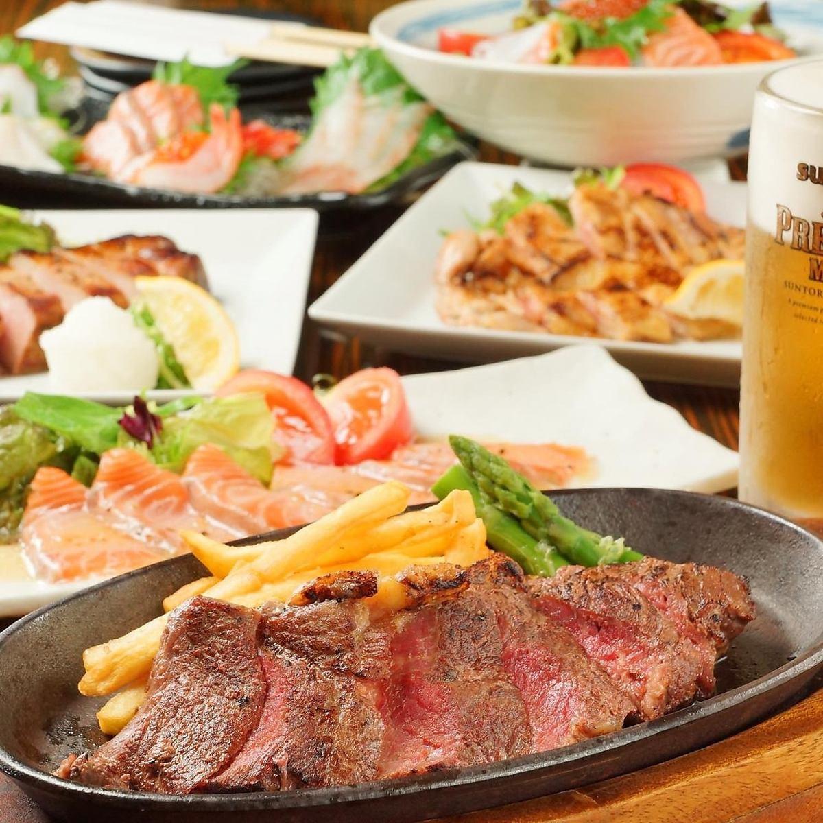 食べ飲み放題コース2400円(税抜)からご用意しております!!各種ご宴会にどうぞ♪