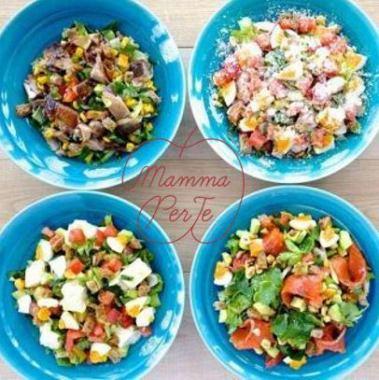 《NY発のスプーンで食べるサラダSTYLE》 チョップドサラダ  ※Mサイズは1日分の野菜の1/2摂取できます。