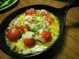 プチトマトのチーズグリル