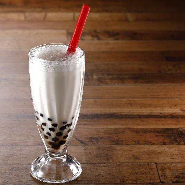 本場台湾でも大人気!絶妙な甘さのタピオカミルクティー
