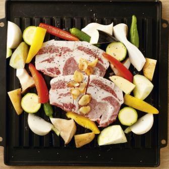 【HotPepper限定コース】金豚王のステーキコース(デザート含む全9品)