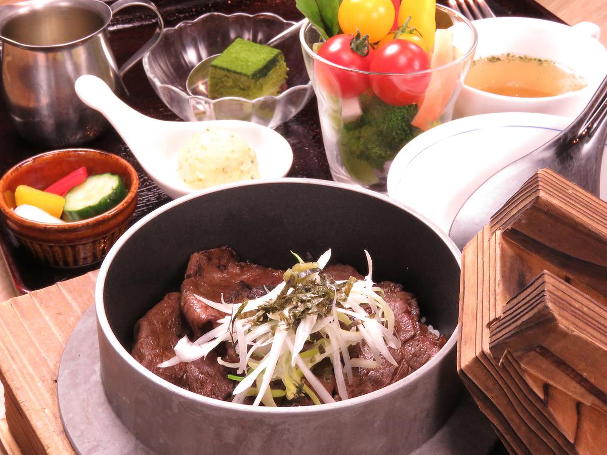 食通の静岡牛 葵 牛まぶしランチ