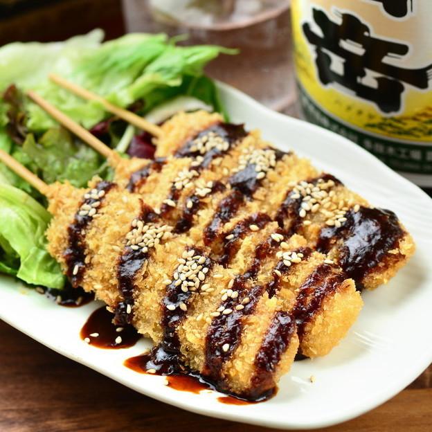 Hatcho味噌Kushikatsu(3道菜)