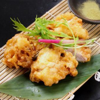 Chicken of salt tempura